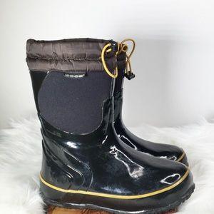 Bogs McKinley Black Rain/Snow Boots Size 2